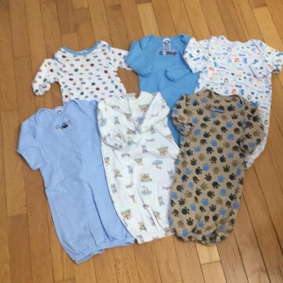 Gerber Pajamas | Bundle Of 6 Baby Night Gowns | Poshmark